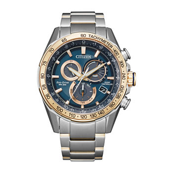Citizen Mens Chronograph Two Tone Stainless Steel Bracelet Watch - Cb5916-59l