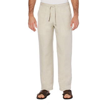 Cubavera Mens Regular Fit Drawstring Pants