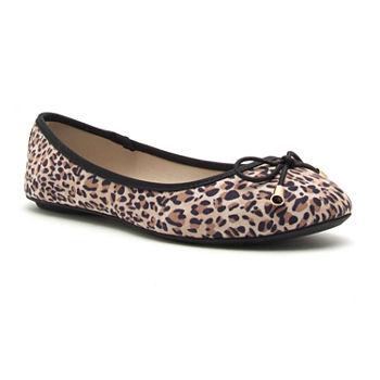 a0f2a8952d5e Leopard Ballet Flats Women s Flats   Loafers for Shoes - JCPenney