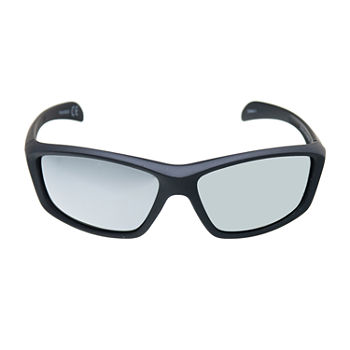 Xersion Mens Full Frame Wrap Around Sunglasses
