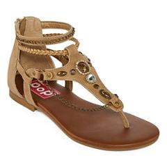 Pop Mahala Womens Flat Sandals