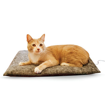 "K & H Manufacturing Amazin' Thermo-Kitty Pad, 15"" x 20"", 4 Watts - Gray"
