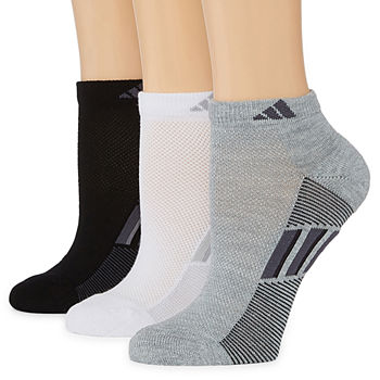 adidas 3 Pack Superlite Low-Cut Socks - Womens