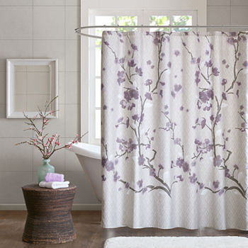 Purple Shower Curtains for Bed & Bath - JCPenney