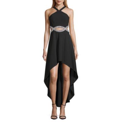 Speechless Sleeveless Embellished Party Dress,Juniors
