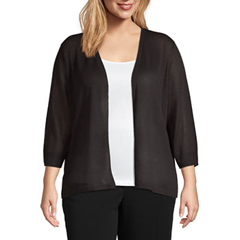 7e1f145f8ce8 Plus Size 3/4 Sleeve Sweaters & Cardigans for Women - JCPenney