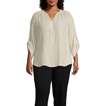 d8fd3ef16cd Casual Tunic Tops Tops for Women - JCPenney