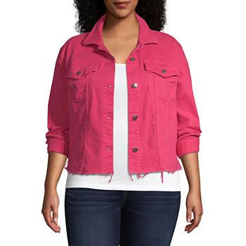 cc3e54917d1 Women Plus Size Coats   Jackets for Shops - JCPenney