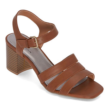 Worthington Womens Beekman Heeled Sandals
