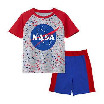 Nasa Toddler Boys 2-pc. Short Set