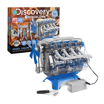 Discovery Kids DIY Toy Model Engine Kit
