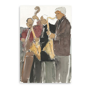 All Together Now Ii Giclee Canvas Art