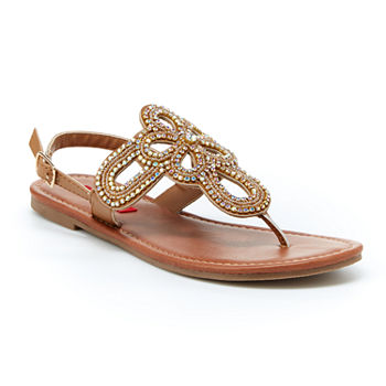7899bfa23 Flat Sandals Women s Sandals   Flip Flops for Shoes - JCPenney