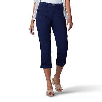 6ad287c2c10 Lee Relaxed Fit Capris   Crops for Women - JCPenney