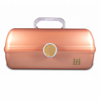 Caboodles Vintage On The Go Girl Rose Gold