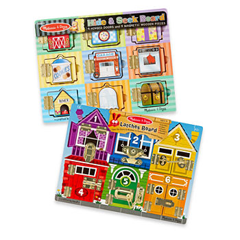 Melissa & Doug Activity Board Set