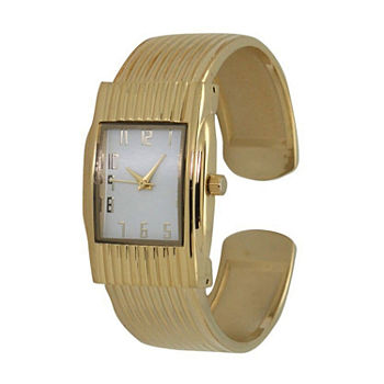 Olivia Pratt Womens Gold Tone Bracelet Watch - A916781gold