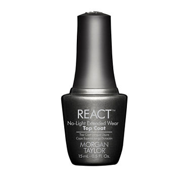Morgan Taylor™ React No-Light Extended Wear Top Coat - .5 oz.