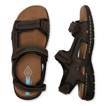 3-Pack St. John's Bay Mens Badger Strap Sandals