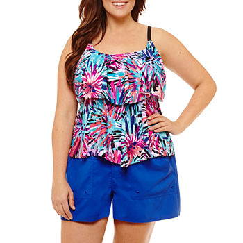 78480d9e9c36f Azul By Maxine Of Hollywood Plus Size Swimsuits   Cover-ups for ...