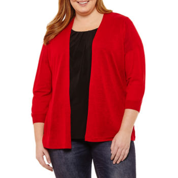 Clearance Plus Size Sweaters Cardigans For Women Jcpenney