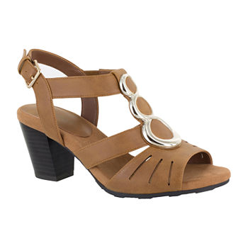 fb3aa1d327f Easy Street Womens Angel Heeled Sandals. Add To Cart. extended sizes  available