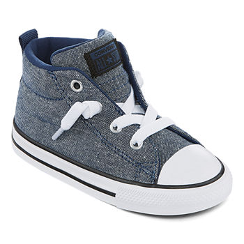 2d60a47c4a2c Converse Toddler Girls Hook and Loop Sneakers. Add To Cart. Navy Black  White.  40