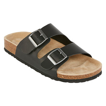 6d9a904433c8 SALE Black Women s Sandals   Flip Flops for Shoes - JCPenney