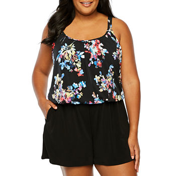 a8d575b668f66 Plus Size Swimsuits   Cover-ups for Women - JCPenney