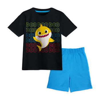 Pinkfong Toddler Boys 2-pc. Baby Shark Short Set