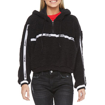 Dickies-Juniors Womens Long Sleeve Fleece Hoodie