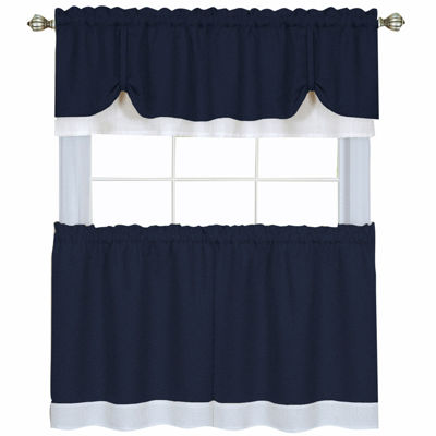 Kitchen U0026 Bath Curtains Blue