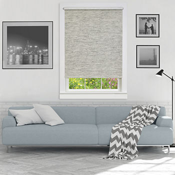 Jute Cordless Light-Filtering Roller Shade