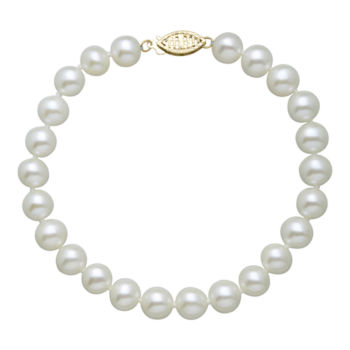 Fine Jewelry Cultured Freshwater Pearl & Lavender Lab Created Crystal Bead Sterling Silver Jewelry Set idsBp
