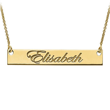 65b3a24cb Necklaces + Pendants Name, Initial & Monogram for Jewelry & Watches -  JCPenney