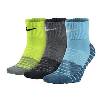cf4e00ba45a Nike® Mens 3-pk. Dri-FIT Training Quarter Socks - Big