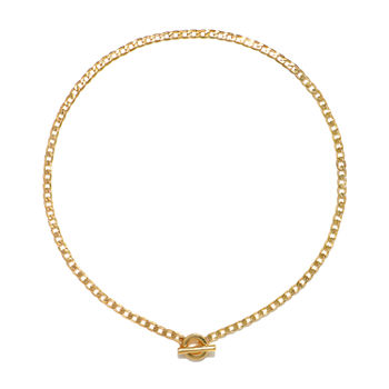 Bijoux Bar 16 Inch Link Chain Necklace