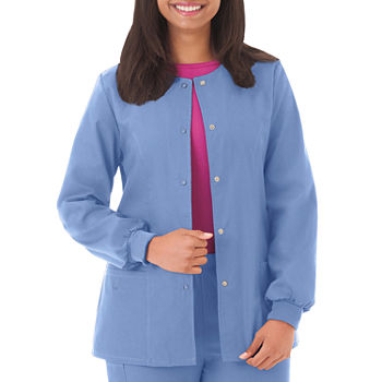 F3 By White Swan 14740 Ladies Warm-Up Scrub Jacket