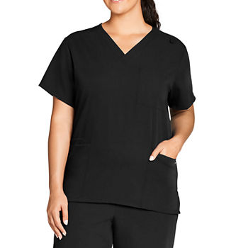 Jockey 2371 Unisex Adult V Neck Scrub Top-Big