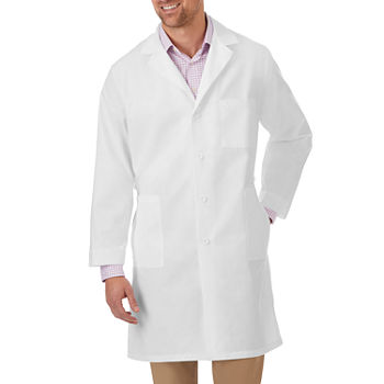 White Swan Unisex Adult Lab Coat-Big and Tall