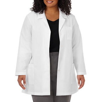 "Meta Fundamentals 15000 Women's 33"" Lab Coat - Plus"