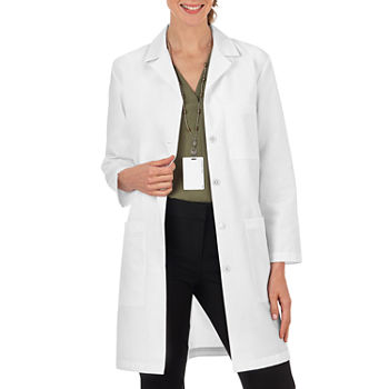 "Meta Fundamentals 15113 Women's 3-Pocket 37"" Lab Coat"
