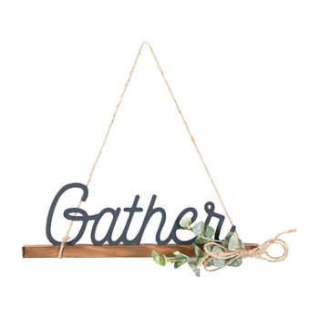 4x12 Gather Wall Sign