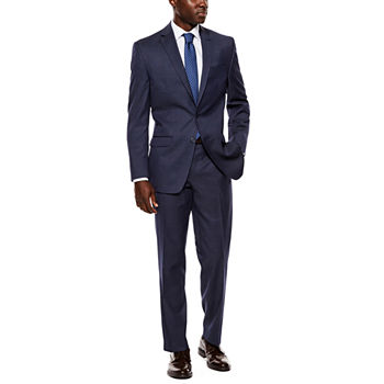 release date clients first pretty and colorful Collection by Michael Strahan Navy Tic Suit Separates - Classic Fit
