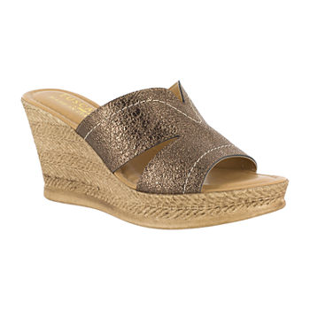 b118cdc7ea8d Wedge Sandals All Comfort Shoes for Shoes - JCPenney