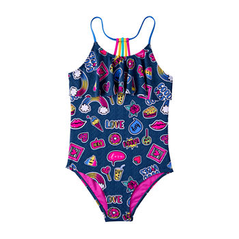 1d391aa172b72 One Piece Swimsuits Girls 7-16 for Kids - JCPenney