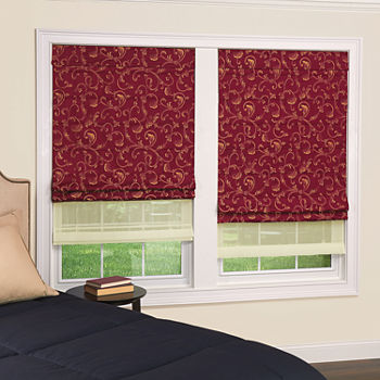 Red Blinds Amp Shades For Window Jcpenney