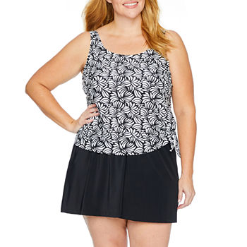 f36a77f9aeeed Plus Size Swimsuits   Cover-ups for Women - JCPenney