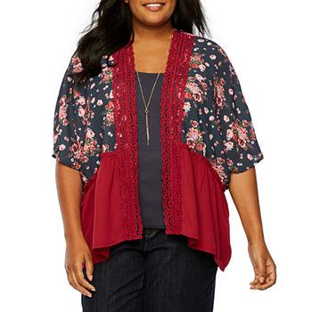 21017f5d0d2 Shirts + Tops Women s Plus Size for Women - JCPenney