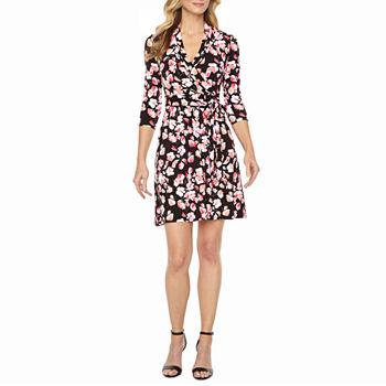 34f1077989 Liz Claiborne Wrap Dresses Dresses for Women - JCPenney